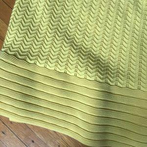 Banana Republic Skirts - NWOT Midi yellow pencil skirt